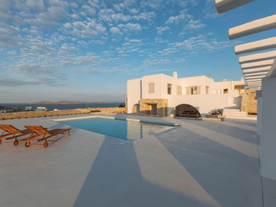 Photo for Luxury and Spacious Villa with a 50m2/ 54 sq2 swimming pool, jacuzzi and breathtaking view of the Ae