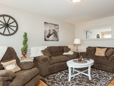 Photo for Spotless and Cozy Rental...just 6.5 miles from the Kentucky Horse Park.