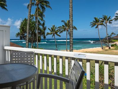 Photo for 2-Level Ocean's Edge Bliss! Spacious, 2 Lanais, WiFi, modern Kitchen, Flat Screens–Kiahuna 2189