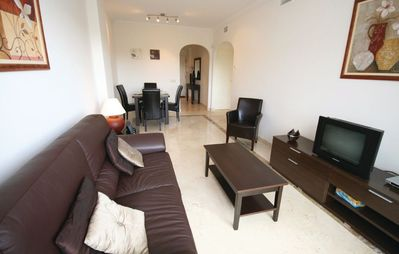 Photo for Apartment in Mijas with Pool, Air conditioning, Terrace, Washing machine (159929)