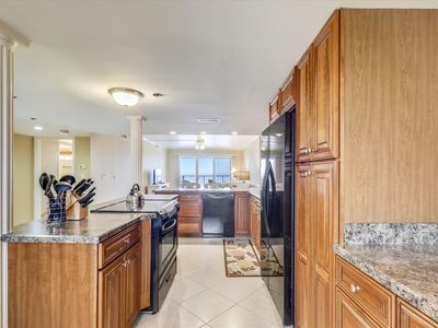 Photo for DAILY ACTIVITIES & LINENS INCLUDED*!  Ocean front balcony with panoramic ocean view can be accessed from the living room and the master bedroom