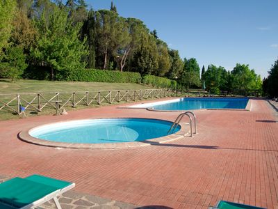 Photo for Leccino-Le Gorghe di Valmarino Residence in Umbria 5km from Perugia Swimming pool and WIFI