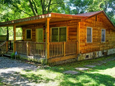 Photo for Deep Creek Cabin less than five minute drive to Downtown Bryson City!