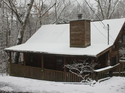 Photo for Cozy Cabin Near Pigeon Forge