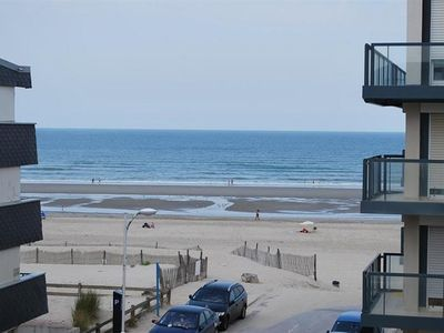 Photo for FORT-MAHON-PLAGE: Close to the beach, with sea view from the balcony.