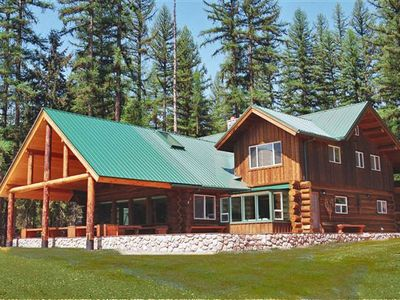 Photo for Beautiful Lodge in National Forest in Yaak, MT on 270 Acres with Private Lake
