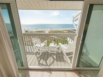 Photo for Beach Front Condo with Sweet October Savings at Hidden Cove 1: 2 BR / 2.5 BA