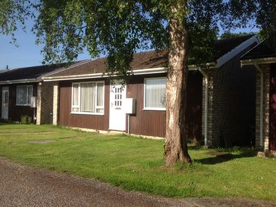 Photo for Two bedroom chalet in very quiet location in grounds of old Manor House..