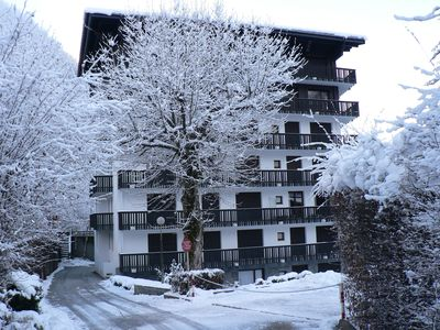 Photo for Large Stylish Apartment next to Brevent Gondola and Beginners Slope in Chamonix