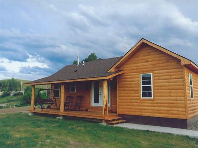 fishing cabin meadows cabins pricing rental feathered creek spring lodges hook fly lodge wyoming rentals