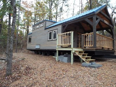 Photo for Crater of Diamonds Getaway Cabin In The Woods