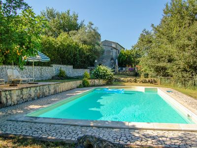 Photo for House with own garden & private pool at 1 km from village. 40km Orvieto, 80 Rome