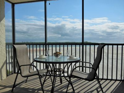Photo for PRISTINE & PRIVATE BEACH 2BR/2BA AT CARLOS POINTE OVERLOOKING THE GULF &  BEACH