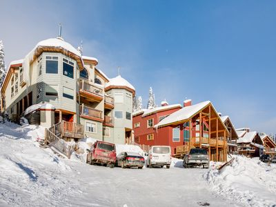 Photo for Sleeps 9 Ski in / Out 2 Bedroom - 2 Bathroom Chalet with 6 Person Hot Tub