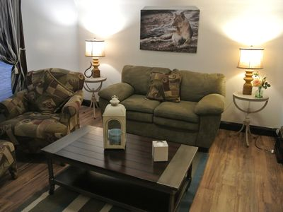 Photo for Cozy 1 Bedroom Upstairs Apartment in Two Rivers