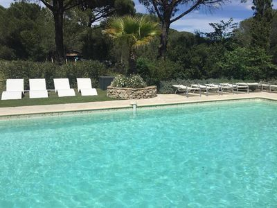 Photo for One Bedroomed Self Contained Guest Cottage with large private terrace and pool