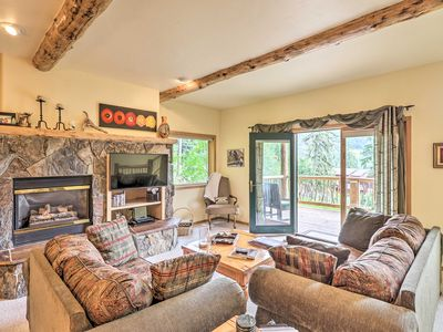 Photo for Rustic Home on Whitefish Mtn - Steps From Ski Run!