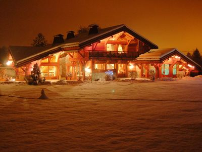 Photo for Beautiful luxury chalet for rent SAINT GERVAIS LES BAINS (Haute-Savoie / Alps)