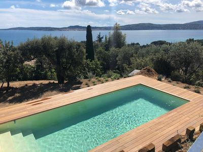Photo for Mas exceptional view on the Gulf of Saint-Tropez