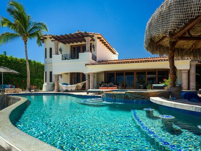 Photo for Luxury Oceanfront Villa Calafia del Mar ft. Pool, BBQ, Outdoor Stereo + More!