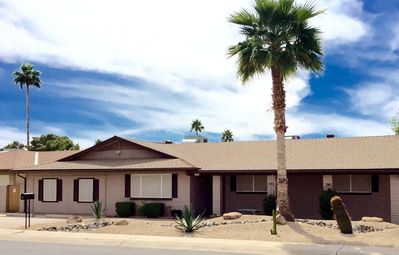 """Photo for Only """"DEDICATED KID ROOM"""" in Phoenix Area with a Heated Pool, Spa & Fire Pit"""