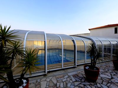 Photo for Dii Beach House with outdoor pool by the sea and countryside