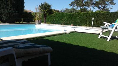 Photo for ARBOREE NICE HOME WITH POOL 5 MINUTES OF ROCHER ET10 OCEAN