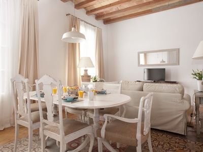 Photo for Luxury 3 bedroom apartment in Eixample Barcelona