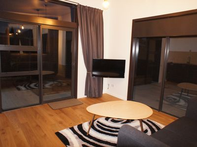 Photo for Peaceful centrally located cosy modern well appointed apartment