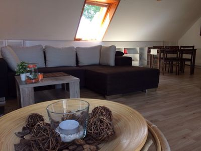 Photo for Large cozy apartment on 2 floors 230sqm