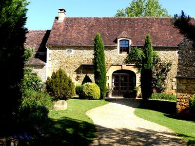 Photo for Beautiful charming mansion in Périgord, Dordogne, near Sarlat, ranked 5 stars