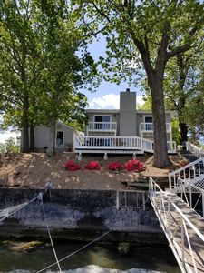 Photo for Osage Beach Lake Front Amazing View,  Private Dock, 3 Bed 3 Bath Home, Sleeps 12