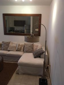 Photo for Beautiful and cozy beachfront condo apartment near the city .