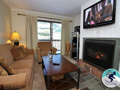 Photo for Newly renovated condo with shuttle to Slopes/Ski home