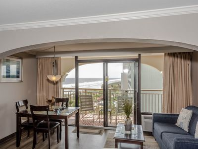 Photo for Beautiful Ocean View Condo with a Large Balcony! Just Steps from the Beach!