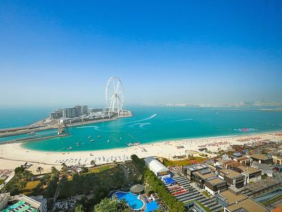 Photo for Full Sea View/JBR/ Stylish 2 bedrooms