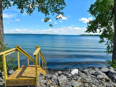 Photo for Amazing! 5 Stars! Family Friendly Quiet Cove Swimming Boating Fishing