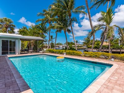 Photo for Charming & Bright - 2 bedroom Waterfront with Pool! |  Lighthouse Point