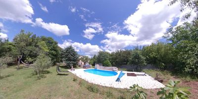 Photo for House with pool secluded in lush greenery ideal for couples/families with pets