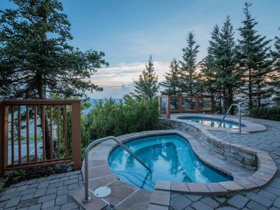 Photo for Central to Village.  Outdoor hot tubs, western views, shuttle route, & garage