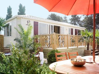Photo for Camping Village Siblu Domaine de Soulac **** - _Mobil Home Excellence 4 Rooms 6 People