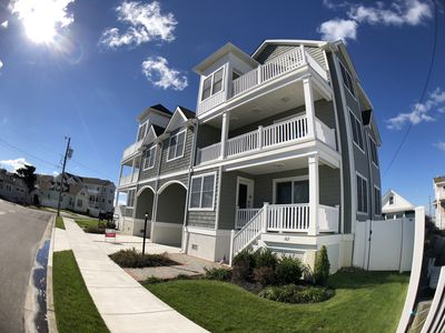 Photo for Excellent Ocean Views Just a short Walk to The beautiful North Wildwood Beach