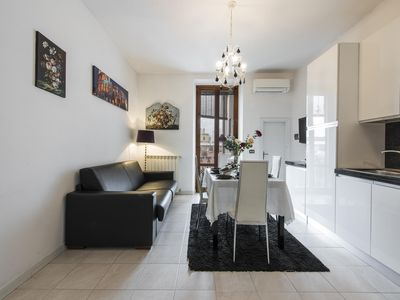 Photo for Canaletto apartment in Porta al Prato with WiFi, integrated air conditioning & balcony.
