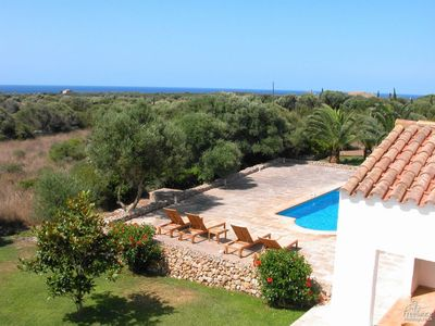 Photo for 5 bedroom Villa, sleeps 10 in Sant Lluís with Pool and WiFi