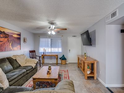 Photo for Need some social distancing? Desert Ranch-style house, 4 TVs, Good Location