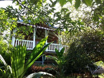 Photo for Charming cottage with a private SPA, at l'Escale Tropicale