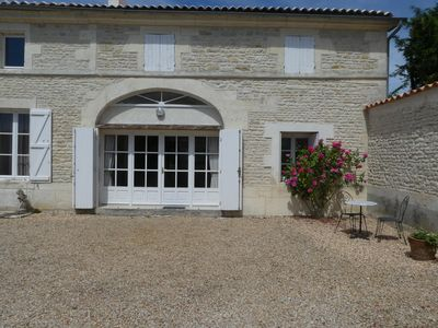 Photo for New for 2018 gite with private heated pool and in 2 acres WIFI