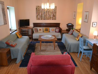 """Photo for Apartment """"Casa Jasmina"""" with Mountain View, Wi-Fi, Terrace & Garden; Parking Available, Pets Allowed"""