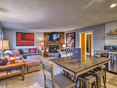 Photo for Downtown Breck Condo on Main St - Walk to Slopes