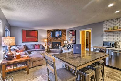Treat yourself to a Rocky Mountain escape at this condo!